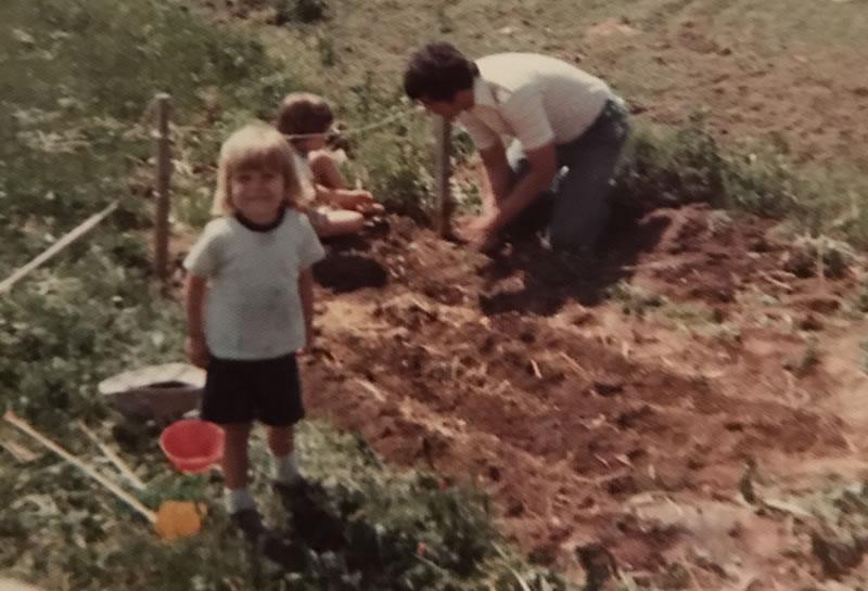 In the garden with melissa ostrom